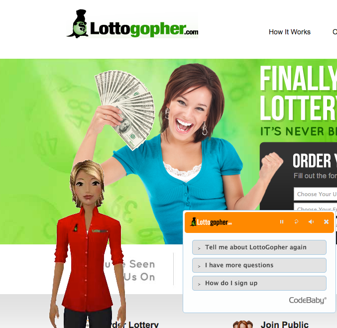 Lottogopher Website