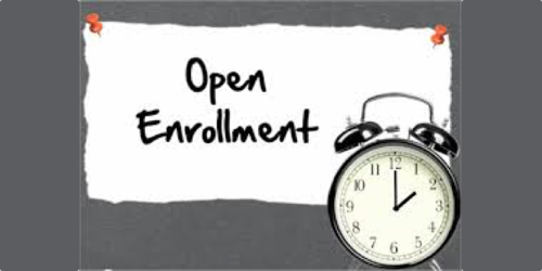 Image of open enrollment