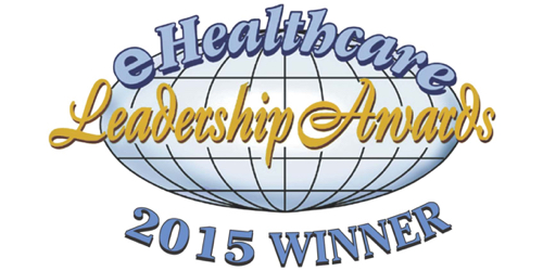 2015 eHealthcare Leadership Award logo