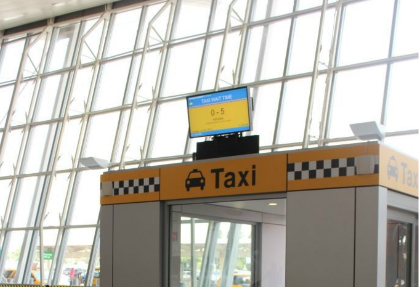 Taxi queues: A common problem for airports