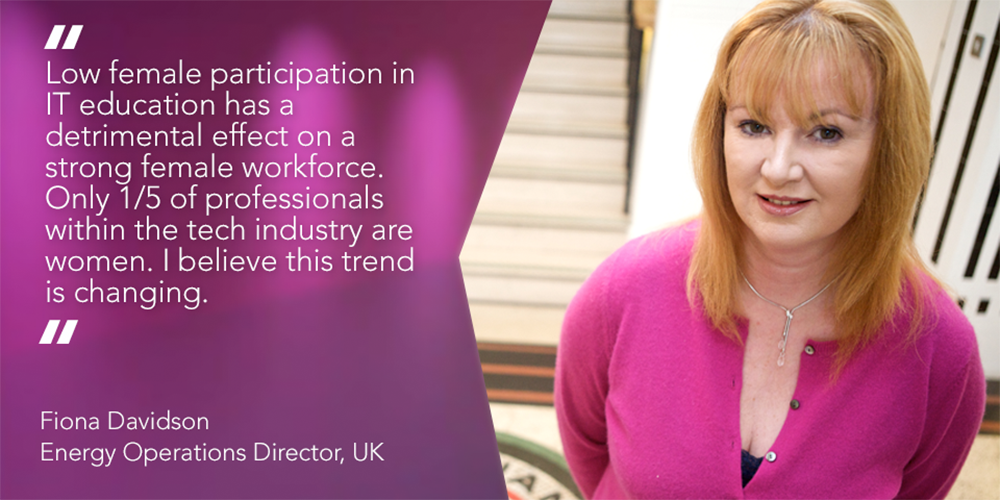 Fiona Davidson, Energy Operations Director