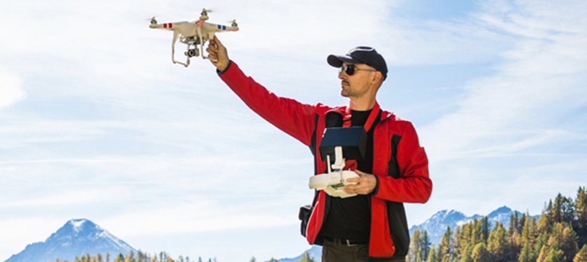 Understand threats posed by small drones in the same airspace as commercial airplanes