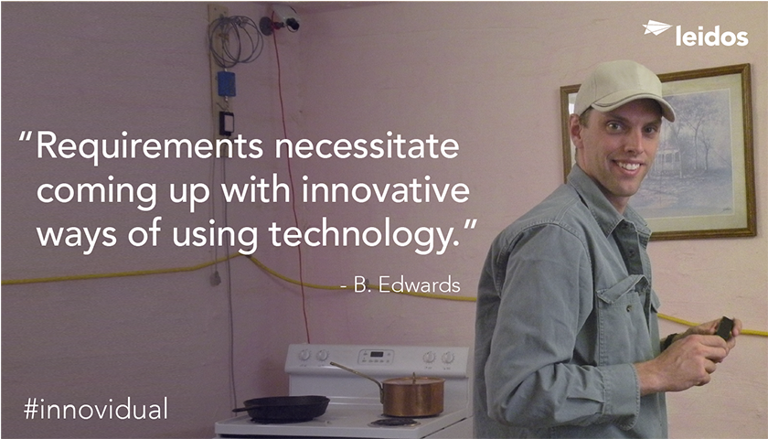 Brian Edwards is a systems engineer at Leidos