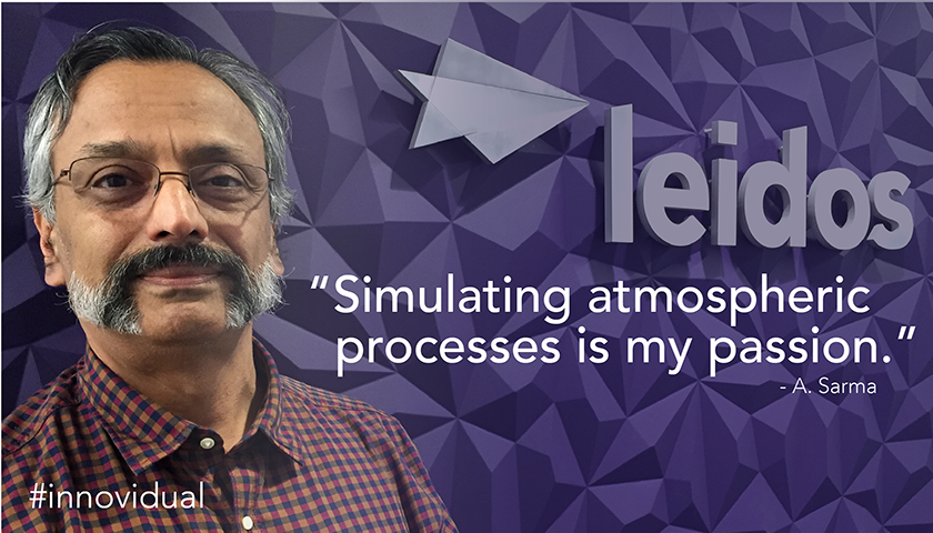 Ananthakrishna is a senior scientist at Leidos