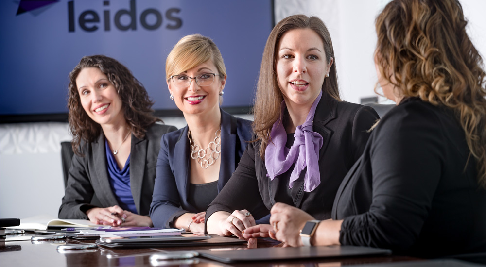 Women make up one-third of the Leidos leadership team
