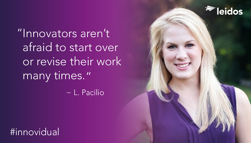 Laura Pacilio is a software documentation specialist at Leidos.