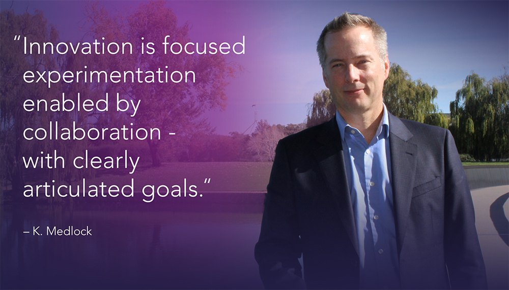 Ken Medlock is the Chief Information Architect for Leidos Australia's Data Analytics program.