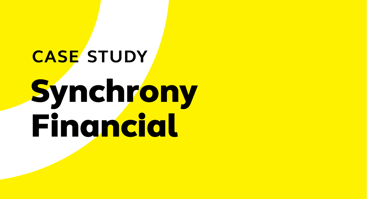 Deploying in the Cloud: Case study - Synchrony Financial