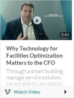 Why Technology for Facilities Optimization Matters to the CFO