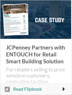 JCPenney Partners with ENTOUCH for Retail Smart Building Solution