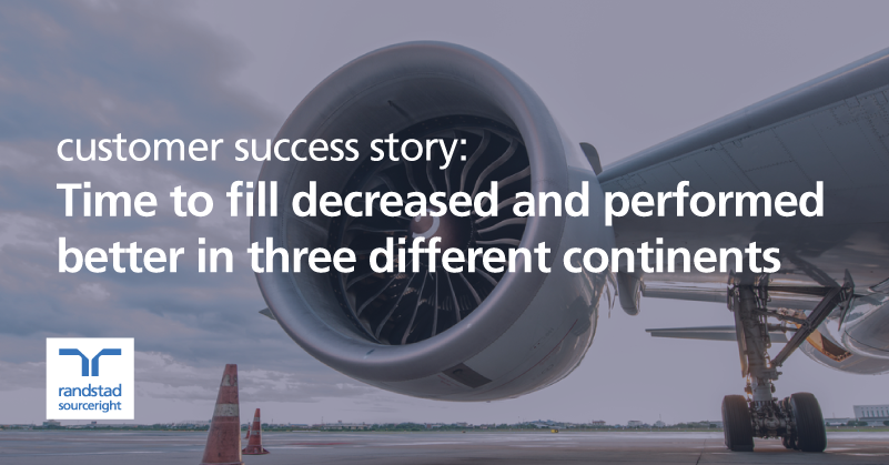 an aerospace manufacturer achieves outstanding hiring results through global RPO