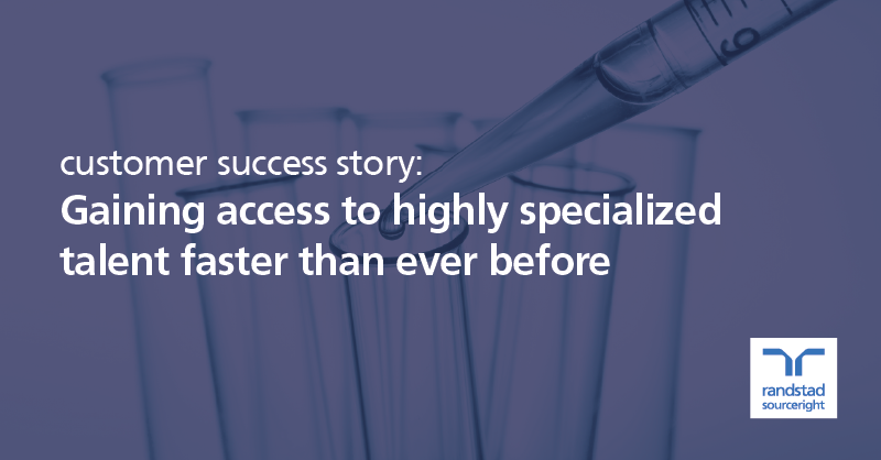 RPO case study: global pharmaceutical leader reduces time to hire