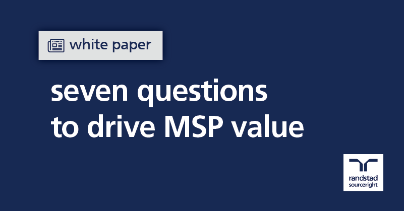 white paper: seven questions to drive MSP value