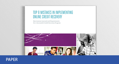 Top 8 Mistakes in Implementing Online Credit Recovery