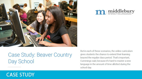 Beaver Country Day World Languages School Case Study
