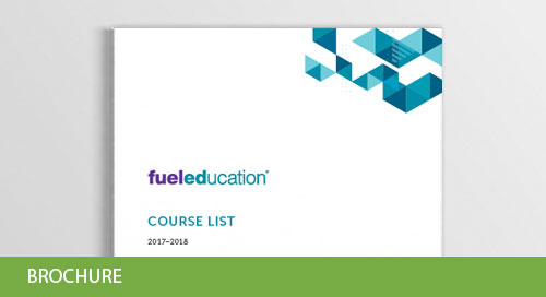 Fuel Education Course List 2017-2018
