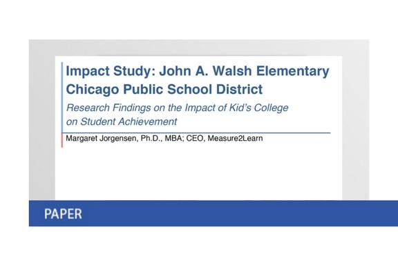 John A Walsh Impact Study