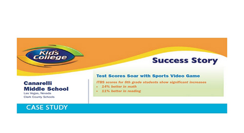 Canarelli Middle School Success Story
