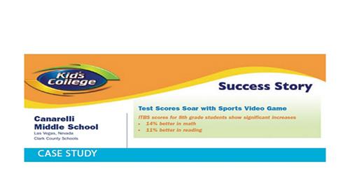 Canarelli Middle School Success Story