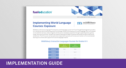 World Language Exposure Implementation Guide