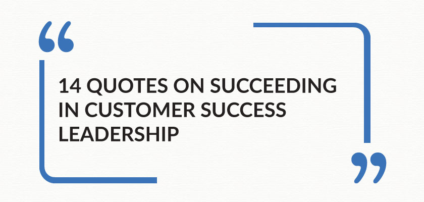 Succeeding Quotes Gorgeous 14 Quotes On Succeeding In Customer Success Leadership