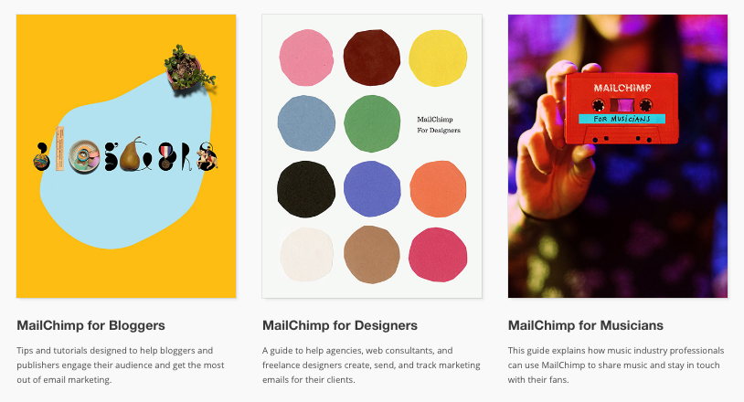 Maichimp for bloggers