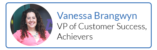 Vanessa Brangwyn, VP of Customer Success, Achievers