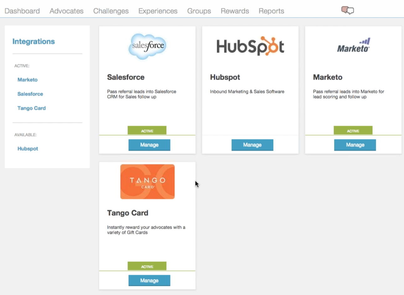 Cloue Elements Marketing API Integrations