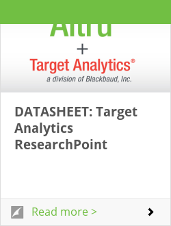DATASHEET: Target Analytics ResearchPoint