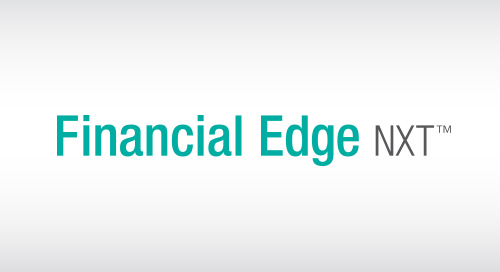 DATASHEET: Financial Edge NXT
