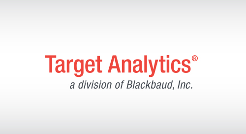 OVERVIEW: Target Analytics for Fundraisers