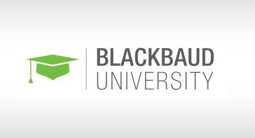 OVERVIEW: Blackbaud Learn for Altru