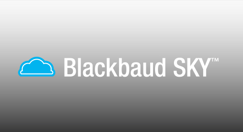 OVERVIEW: Blackbaud SKY for Altru