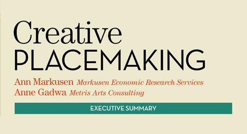 WHITE PAPER: Creative Placemaking