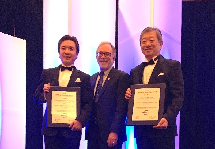YKK80 Building Awarded ASHRAE Award