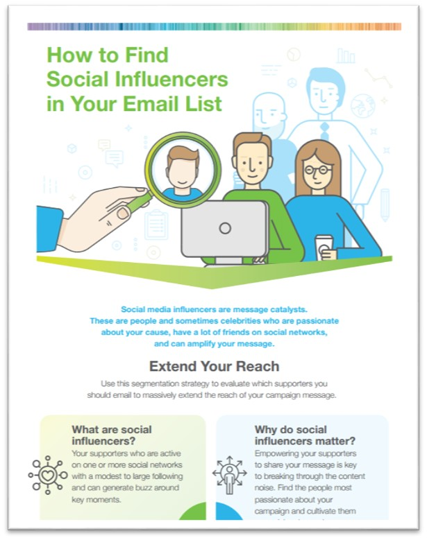 Infographic Thumbnail: How to Find Social Influencers In Your Email List