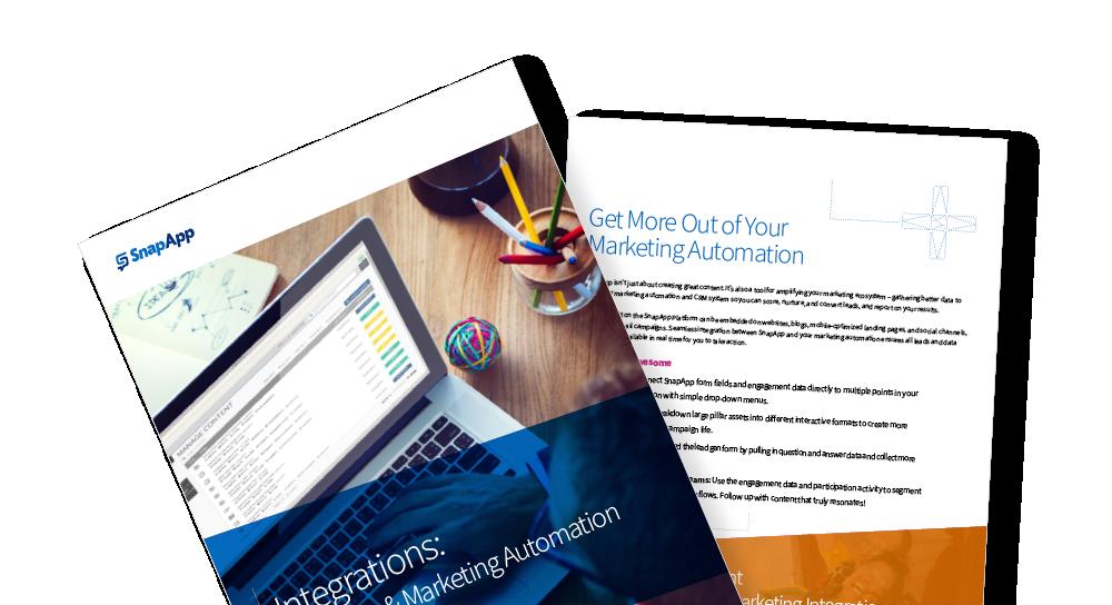 Integrations: SnapApp & Marketing Automation