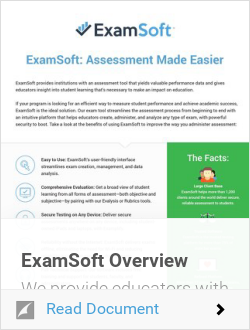 ExamSoft Overview