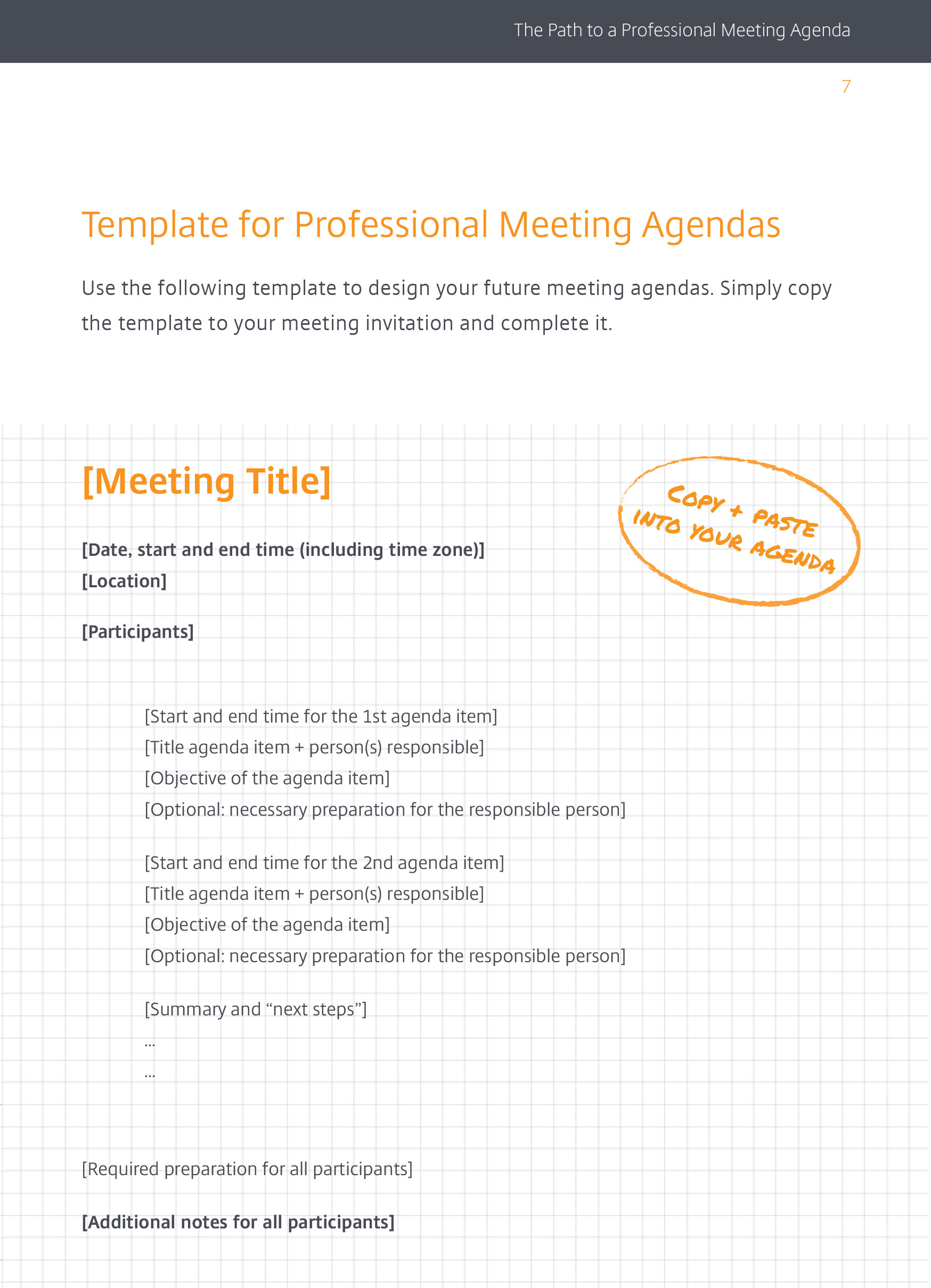 create a professional meeting agenda meeting agenda template professional meeting agenda template template