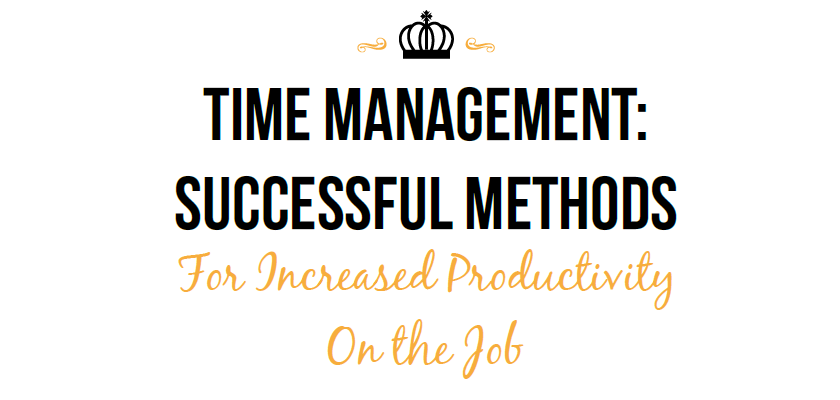Time Management: Successful Methods