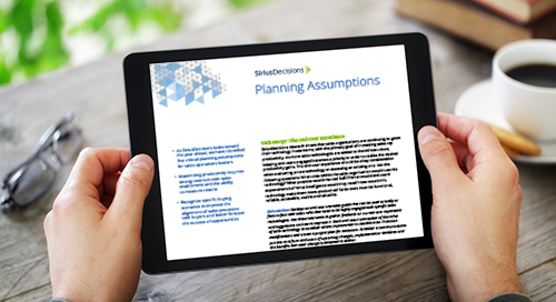 Marketing Operations Planning Assumptions Guide