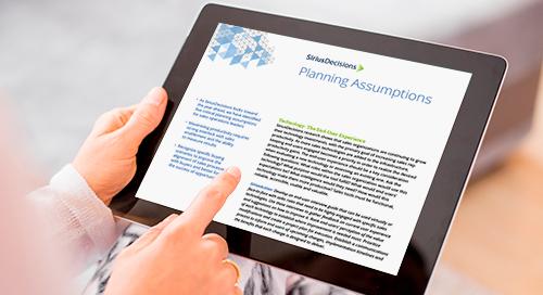 Channel Sales Planning Assumptions Guide