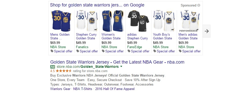 PLAs - Add Warriors jerseys to your cart. Heartbreak not included.