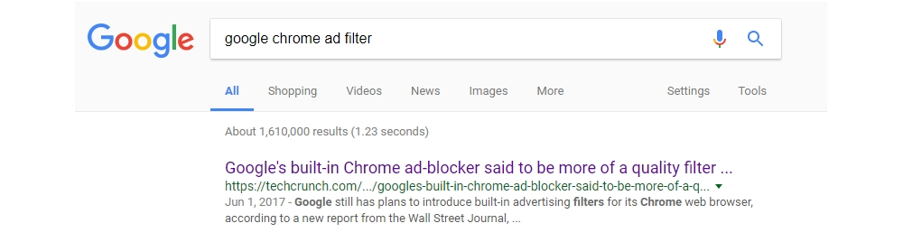 """What does the upcoming Google Chrome """"ad filter"""" mean for e-commerce marketing?"""