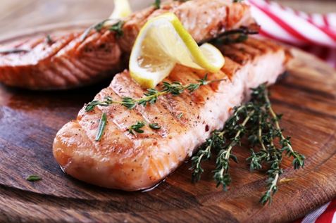 salmon healthy diet balanced