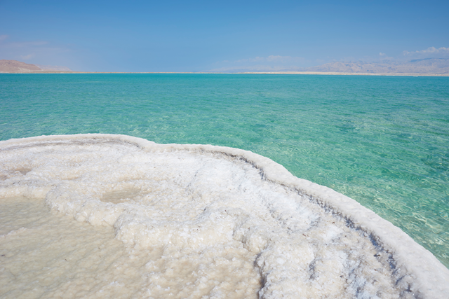 Dead Sea minerals Water and Salt