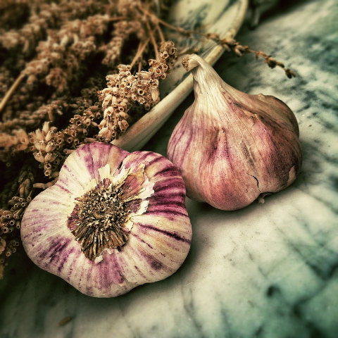 Garlic healthy Vegan Diet