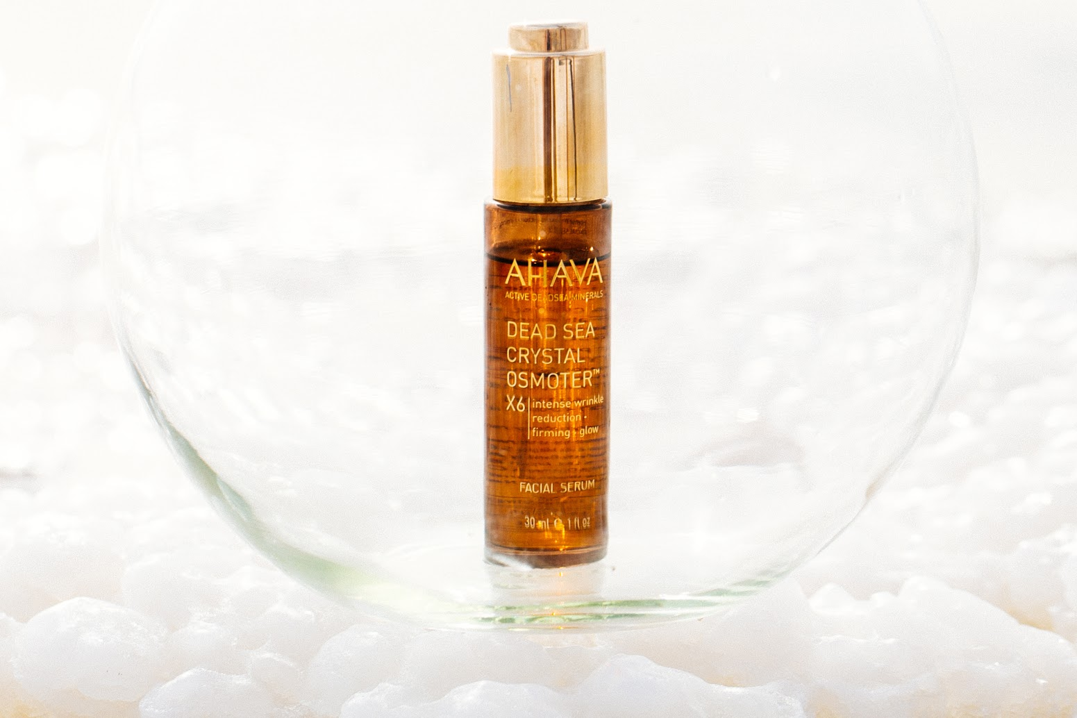 crystal osmoter ahava face serum