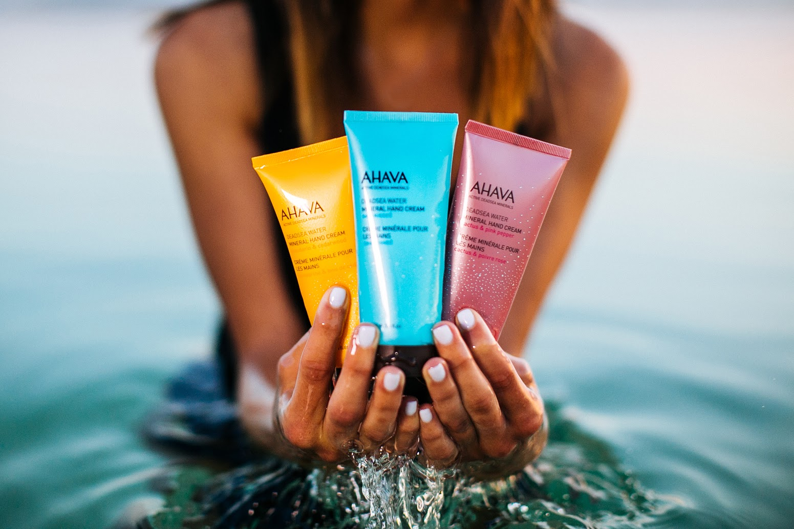 ahaha dead sea hand cream
