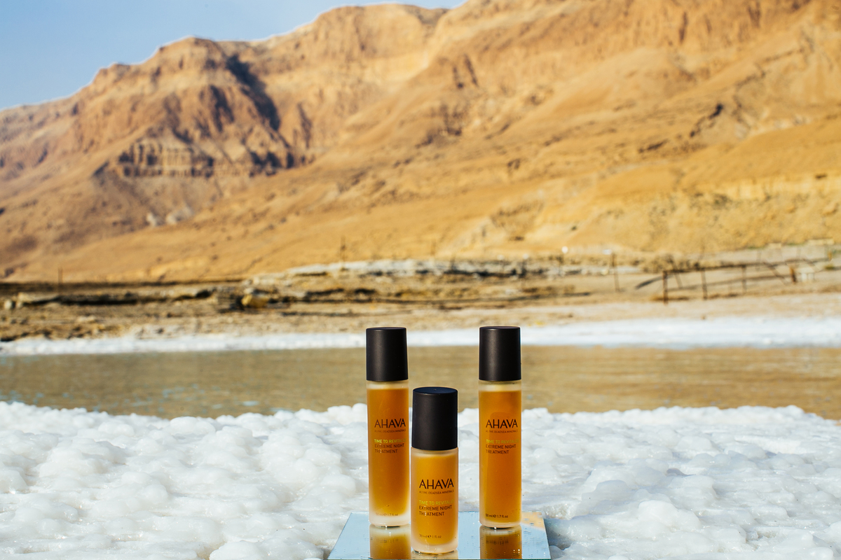 AHAVA Dead Sea Extreme Night Anti-aging products
